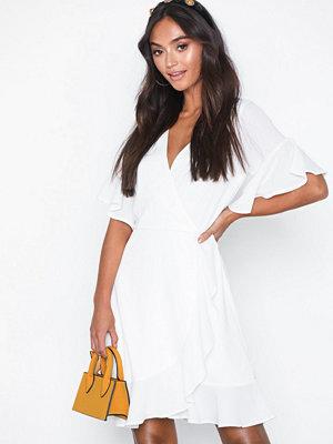 Ax Paris Frill Sleeve Mini Dress