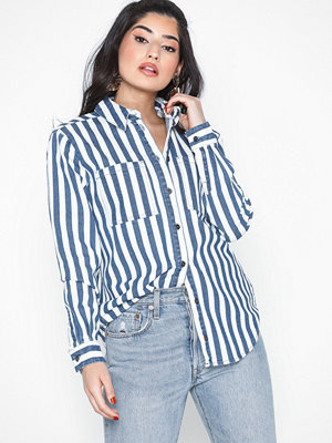 Noisy May Nmerik L/S Oversize Denim Shirt Clr