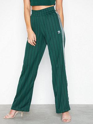 Adidas Originals mörkgröna randiga byxor Track Pants