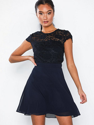 NLY Eve Rose Lace Skater Dress