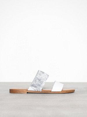 Tofflor - Pieces Pscarita Leather Sandal