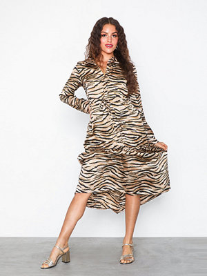 Pieces Pctiga Ls Midi Dress D2D