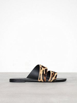 Sandaler & sandaletter - Pieces Pscandela Cow Hair Sandal