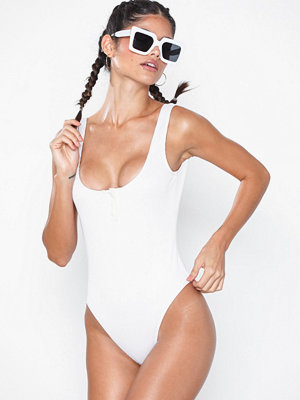 NLY Beach Button Rib Swimsuit
