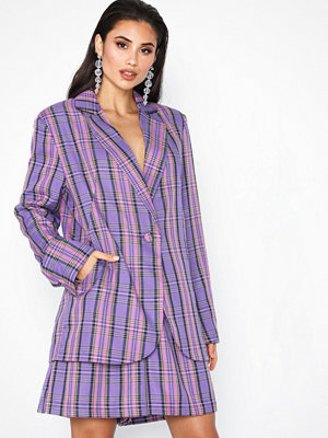 NLY Trend Colorful Check Blazer