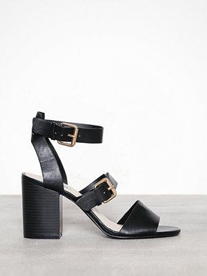 Pumps & klackskor - NLY Shoes Buckle Up Block Heel