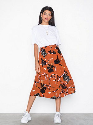 Kjolar - Selected Femme Slfkiara Mw Midi Skirt B