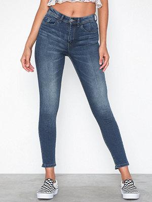 Jeans - Jacqueline de Yong Jdyjona Skinny High Med Blue Noos D