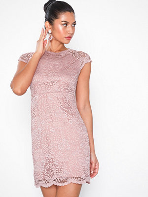 Only onlSHIRA Lace Dress Noos Wvn Ljus Rosa