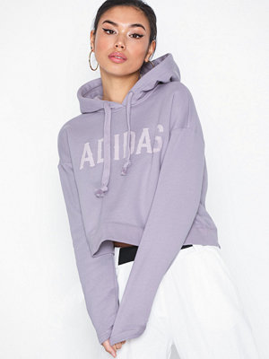 Street & luvtröjor - Adidas Originals Cropped Hoodie