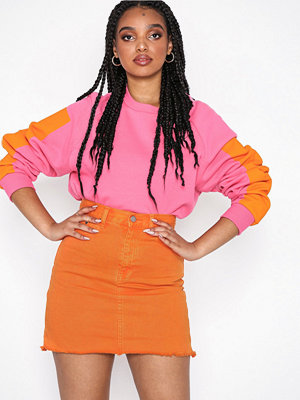 Dr. Denim Mallory Denim Skirt Orange