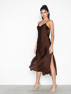 Topshop Plain Satin Slip Dress