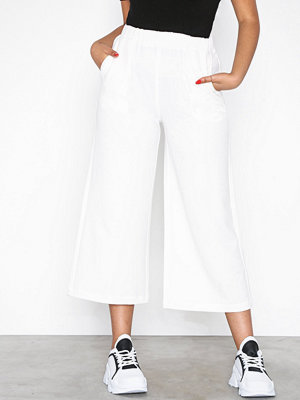 Dr. Denim vita byxor Abel Trousers White