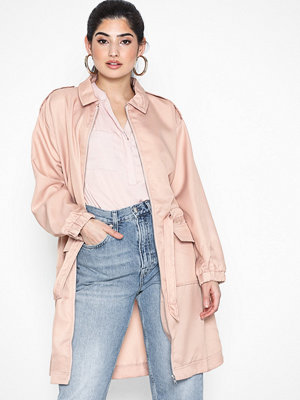 Missguided Oversized Zip Utility Shirt Dress