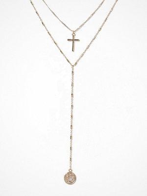 Missguided Jewelry halsband Cross Multirow