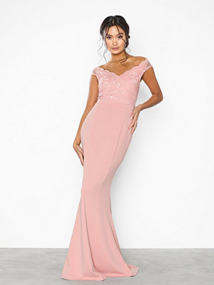 NLY Eve Wrap Lace Mermaid Gown