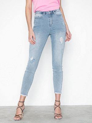 Jeans - Missguided Sinner Authentic Highwaist Distress