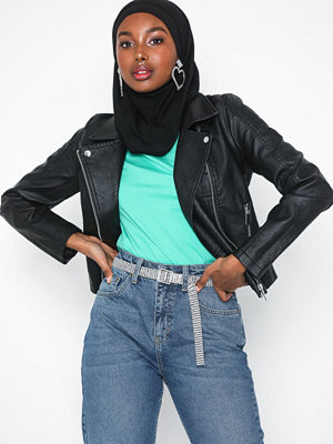 New Look PU Biker Jacket