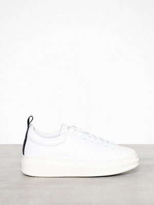 Sneakers & streetskor - Jim Rickey Club Tech-Tumbled Leather Vit