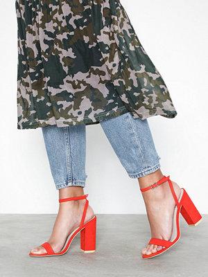 Pumps & klackskor - NLY Shoes Strap Heel Block Sandal