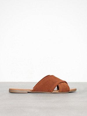 Tofflor - Pieces Psmarnie Suede Sandal