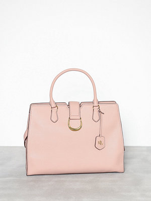 Lauren Ralph Lauren Large City Satchel Rosa