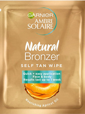 Garnier Natural Bronzer Wipes
