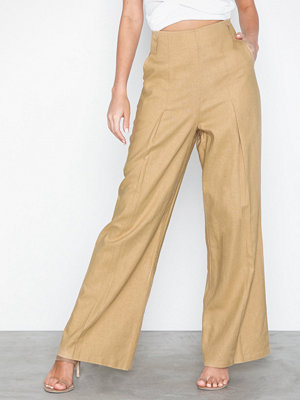 NLY Trend gula byxor Wide Spring Pants