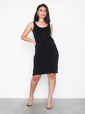 Object Collectors Item Objstephanie S/L Short Dress Noos Svart