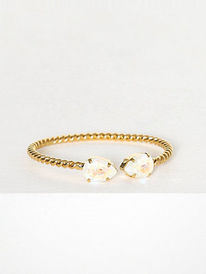 Caroline Svedbom armband Mini drop bracelet Vit