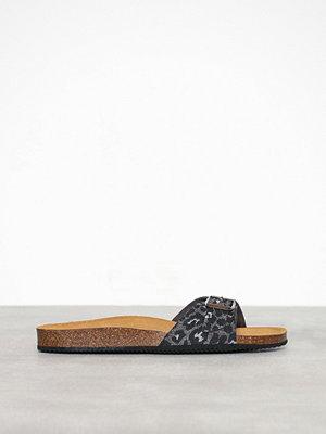 Tofflor - Pieces Pscana Suede Sandal