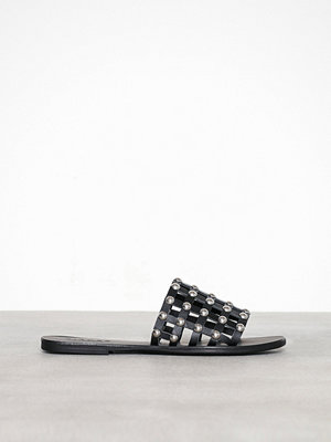 Pieces Pscandra Leather Sandal