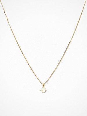 Caroline Svedbom halsband Classic Petite Necklace Vit