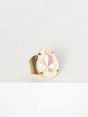 Caroline Svedbom Perfect Drop Ring Vit
