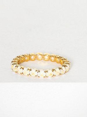 Caroline Svedbom armband Gia Stud Bracelet Vit