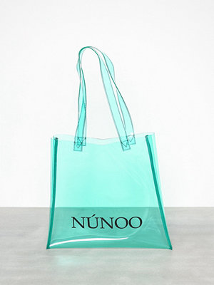 Handväskor - NuNoo Small Tote Transparent Mint