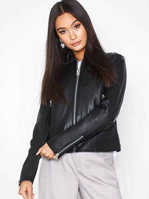 Skinnjackor - Selected Femme Slfpure Leather Jacket W