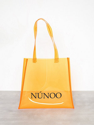 Handväskor - NuNoo Small Tote Transparent Orange