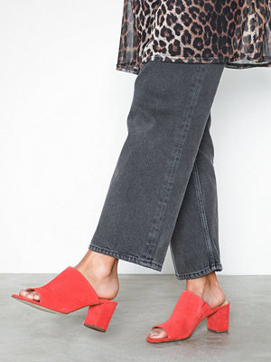 Pieces Psmela Suede Mule Orange