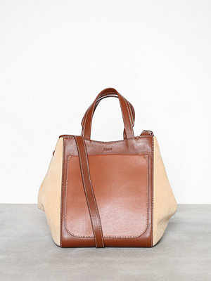 Handväskor - Filippa K Shelby Mini Bucket Mix Leather