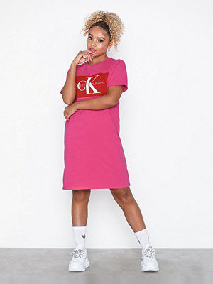 Calvin Klein Jeans Iconic Monogram Box Tshirt Dress