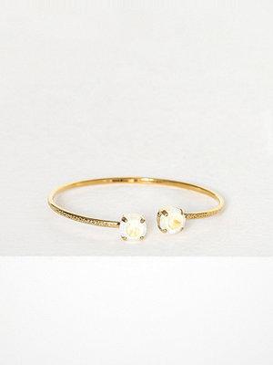 Caroline Svedbom armband Classic Petite Bracelet Vit