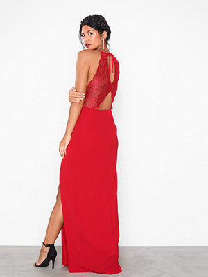 NLY Eve Lace Insert Detail Gown