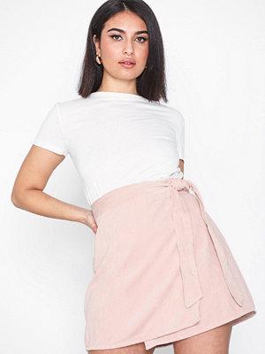 Only onlELVIRA Wrap Corduroy Skirt Pnt