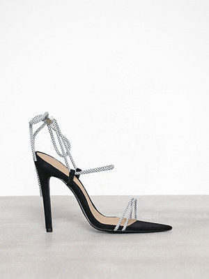 Missguided Rope Heeled Sandal