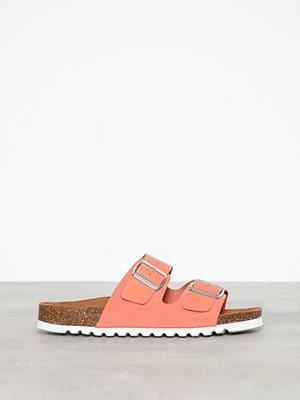 Tofflor - Vero Moda Vmcarla Leather Sandal