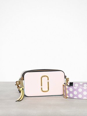 Marc Jacobs cremefärgad axelväska Snapshot Bag Blush