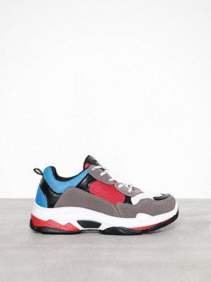 Sneakers & streetskor - Duffy Dad Contrast Sneaker Röd
