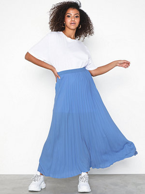 Only onlPHOEBE Long Plisse Skirt Wvn
