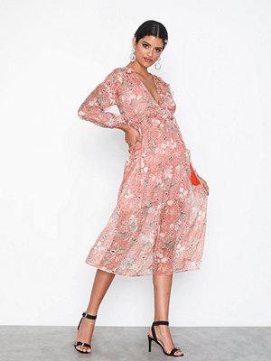 Glamorous Long Sleeve Bohem Dress
